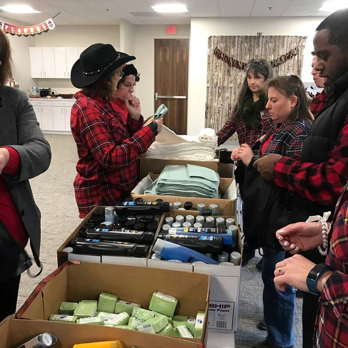 LSC puts charitable twist on holiday party