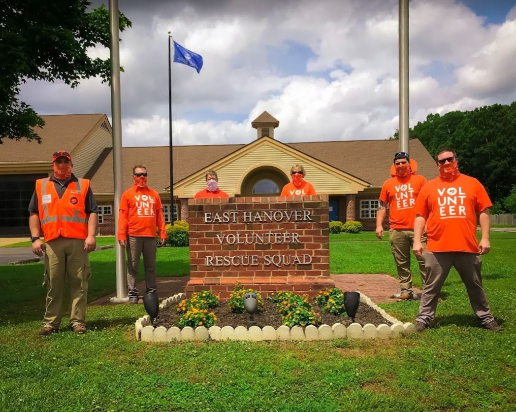 Richmond team revitalizes landscape at East Hanover Volunteer Rescue Squad