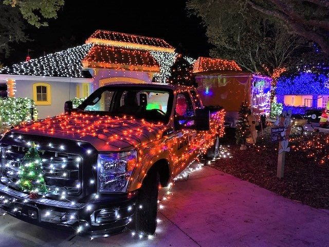 Orlando team lights up Give Kids the World Village ahead of holiday event