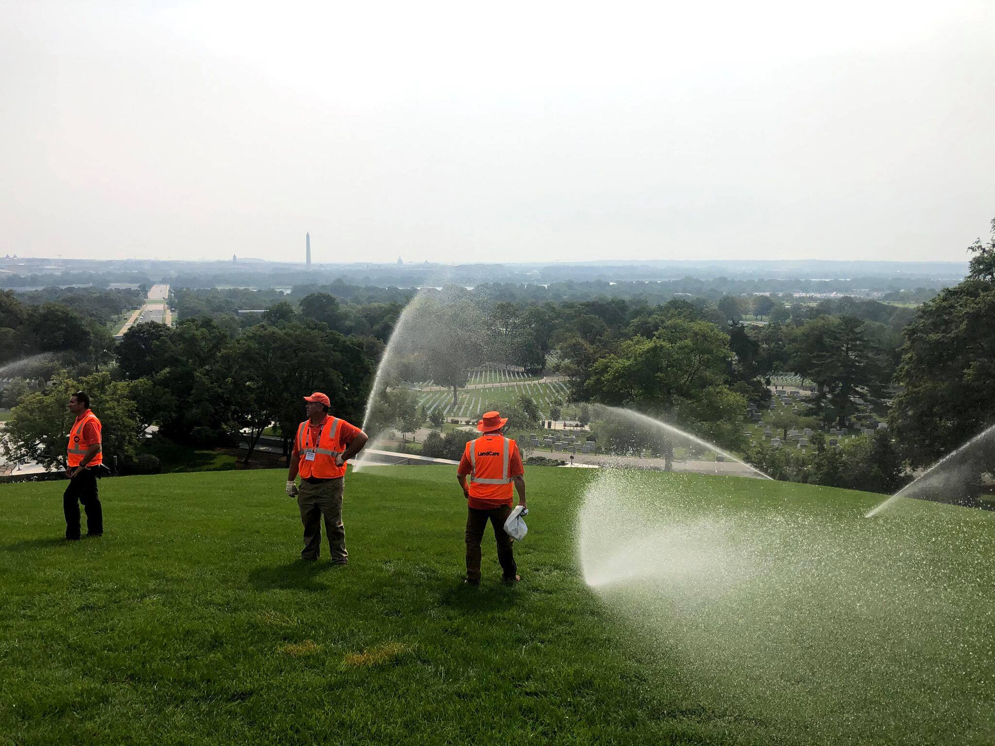 LandCare helps restore Arlington National Cemetery as part of Renewal & Remembrance event